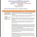 Chính sách bán hàng dự án Biệt thự Vinpearl Đà nẵng