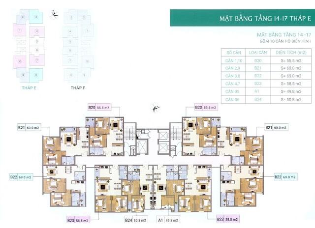 1 Xuân Phương Residence - Chung cưVăn Phòng Trung Ương  Đảng
