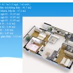 Thiết kế căn hộ Chung cư VP Trung Ương Đảng – XUÂN PHƯƠNG RESIDENCE