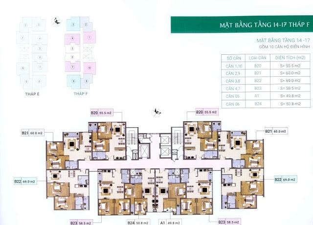 4 Xuân Phương Residence - Chung cưVăn Phòng Trung Ương  Đảng