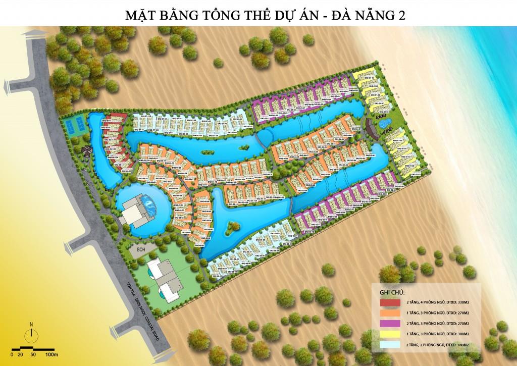 Mặt bằng dự án Vinpearl Đà Nẵng