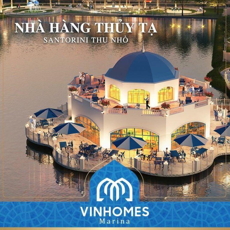 Nhà hàng thủy tạ Vinhomes Marina