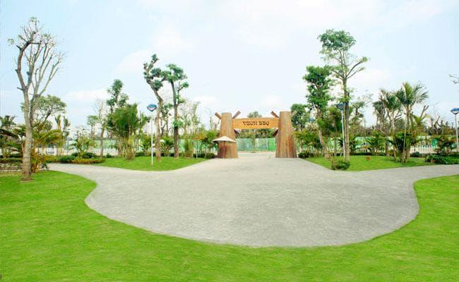 vườn nướng BBQ dự án Vinhomes Đan Phượng